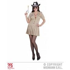 Sheriff meisje kostuum