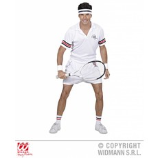 Tennisspeler kostuum