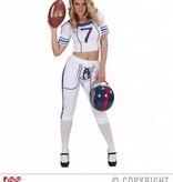 American Football kostuum dame