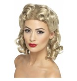 40's Sweetheart pruik blond