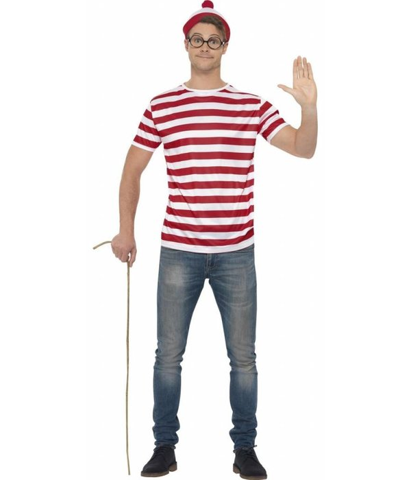 Waar is Wally verkleedset