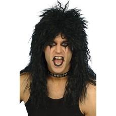 Hard Rock pruik zwart Danny