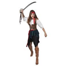 Piraten carnavalskostuum dames