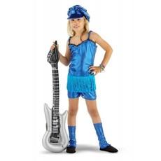 Rocker Girl 3-delig pakje blauw