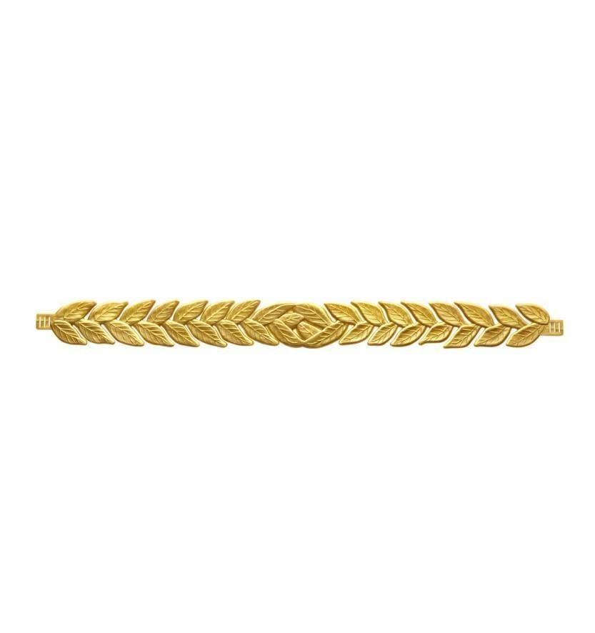 Laurierblad hoofdband goud