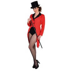 Slipjas rood vrouw