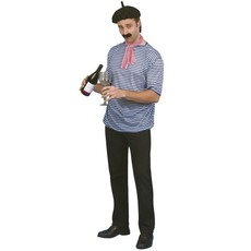 Franse man verkleedset