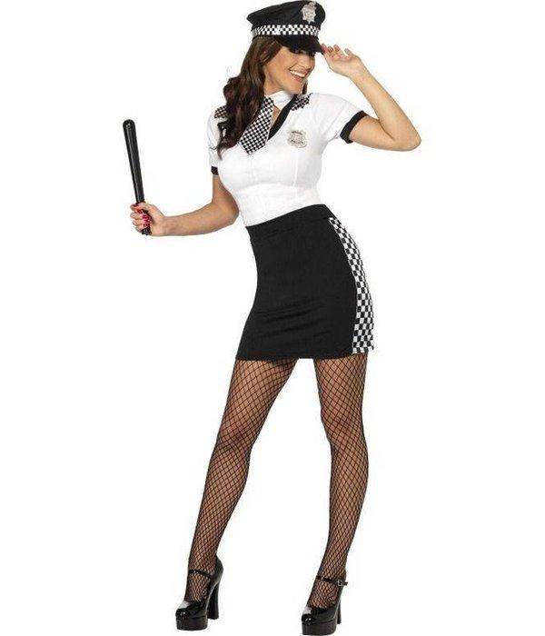 Politievrouw kostuum UK