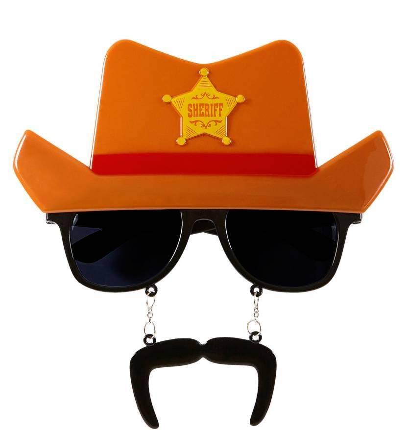 Bril Cowboy met hoed