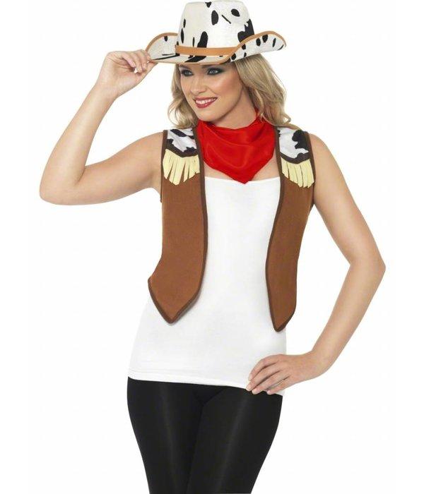 Wild West Toppers verkleedset vrouw
