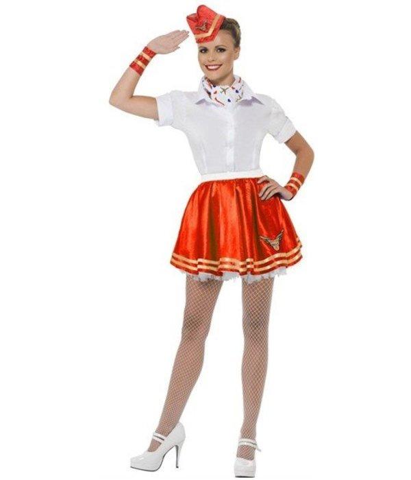 Stewardess Trolley verkleedset