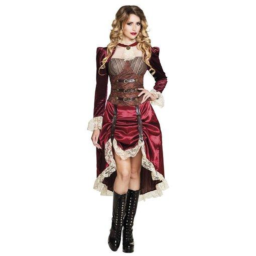 Steampunk saloon girl