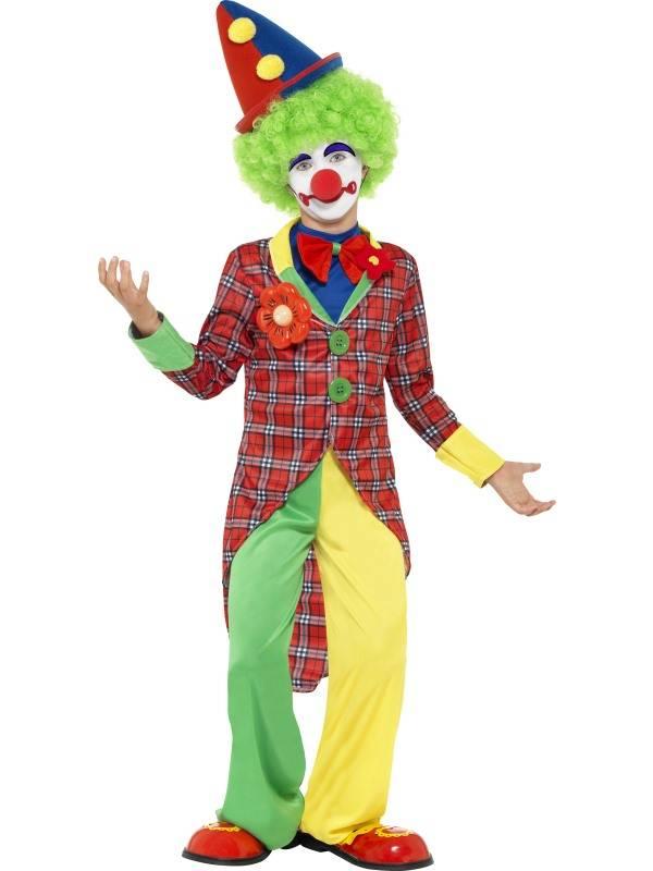 Clownskostuum kind Dano