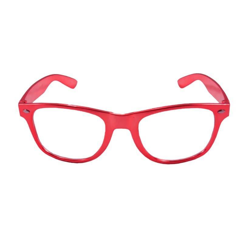 Bril metallic rood