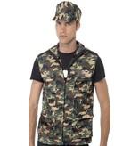 Army verkleedset man
