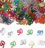 50 Jaar Tafeldecoratie / Sierconfetti