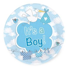 Bordjes geboorte jongen 'it's a boy'