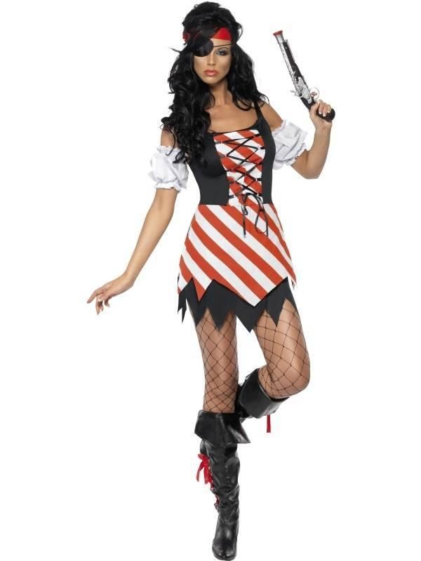 Fever dames piraten verkleedkostuum