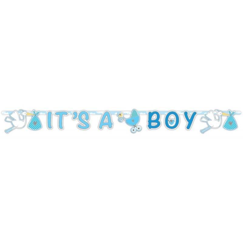 Letterslinger It's a Boy geboorte jongen