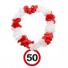 Hawaii krans verkeersbord 50
