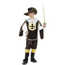 Musketiers verkleedkleding kind Oscar