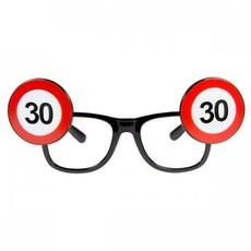 Bril verkeersbord 30 jaar