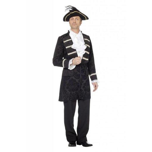 Piratenjas man zwart