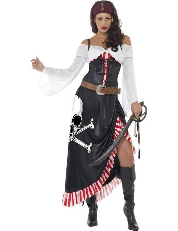 0aaab055f6d Zwoele piratenkostuum dame - Feestbazaar.nl