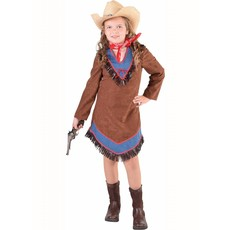 Cowgirl jurkje jeans kind