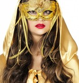 Masker venetiaans goud