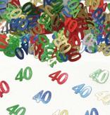 40 Jaar Tafeldecoratie / Sierconfetti