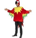 Papegaai verkleedpak