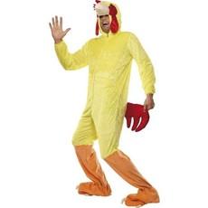 Kip kostuum volwassenen