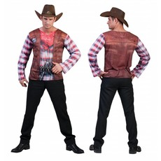 3D Cowboy Toppers shirt man