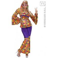 Hippie kleding vrouw 3-delig Meadow
