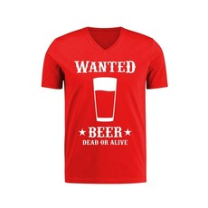 Toppers T-shirt Wanted beer man
