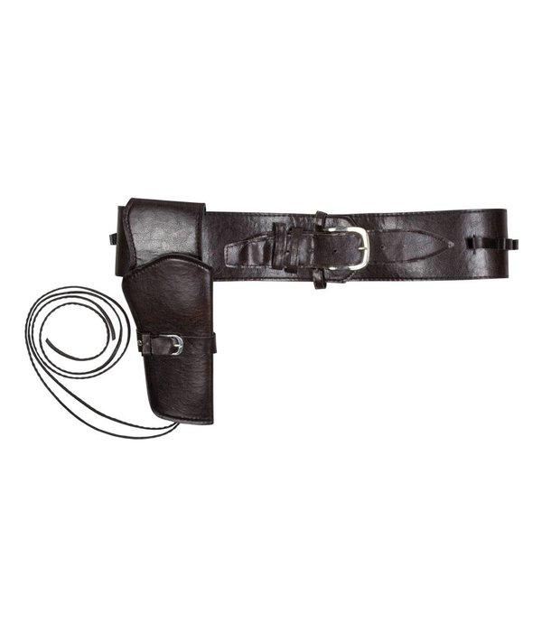 Set Cowboy holster en riem 110 cm