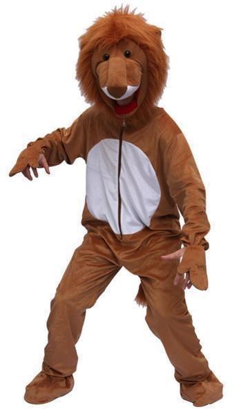 Leeuwen kostuum pluche