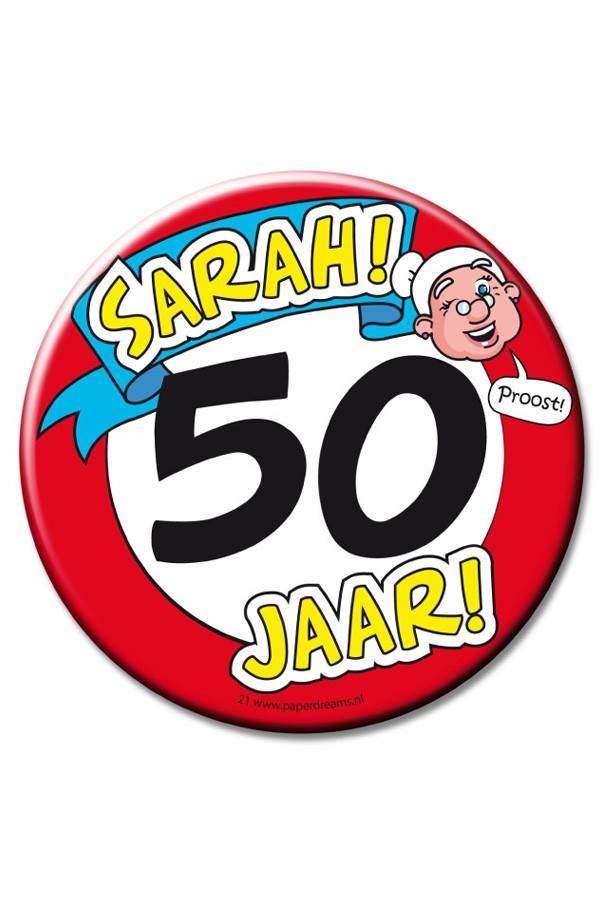 XL Button 50 SARAH