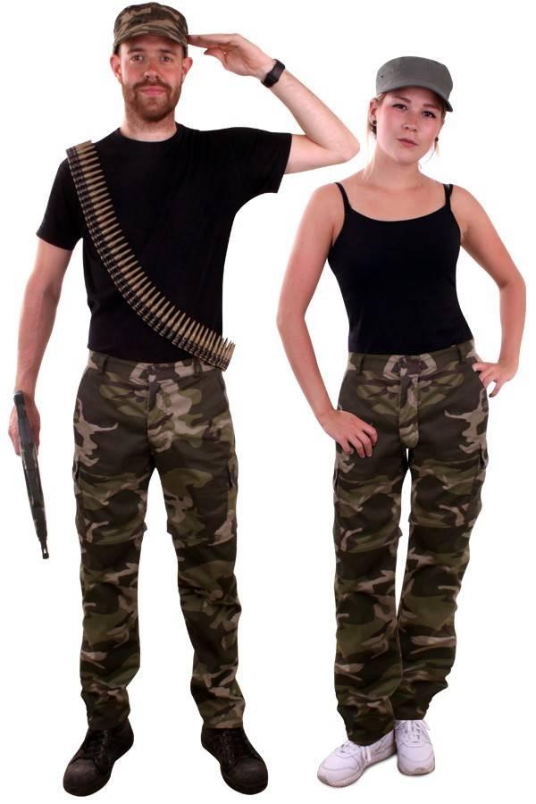 Wonderlijk Camouflage broek leger - Feestbazaar.nl KM-98