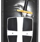 Ridder wapenset 2-delig zwart