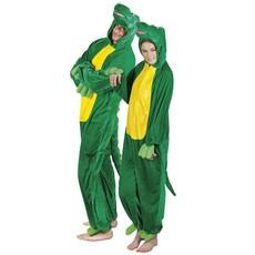 Volwassenenkostuum Krokodil pluche