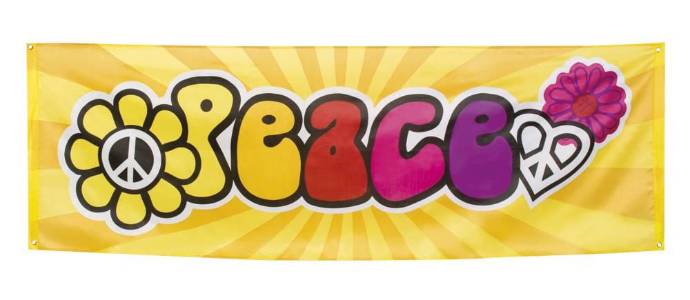Banner apos Peace apos 74 x 220 cm