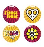 4 Buttons Hippie