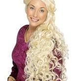 Blonde Renaissance pruik