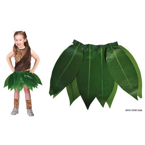 Hawaii Jungle rok groene bladeren kind