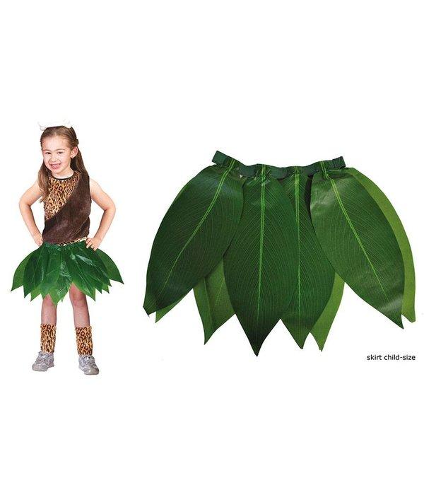 Hawaii rok groene bladeren kind