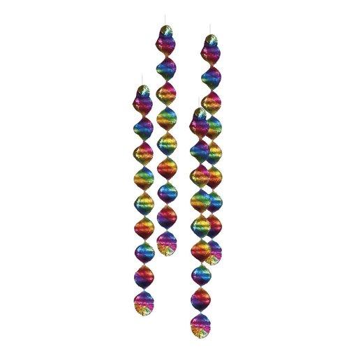 Gekleurde spiralen rainbow