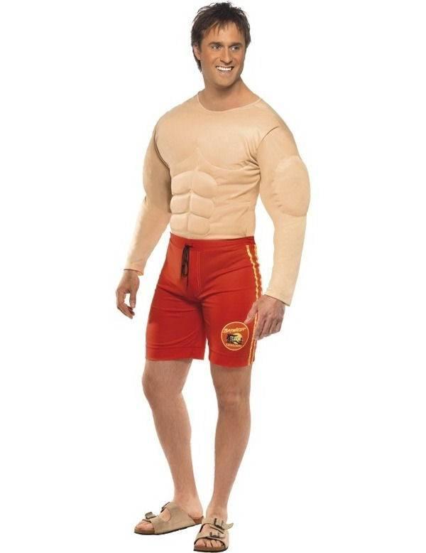 Baywatch Muscle kostuum