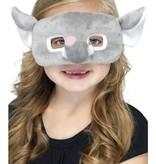 Oogmasker kind olifant pluche